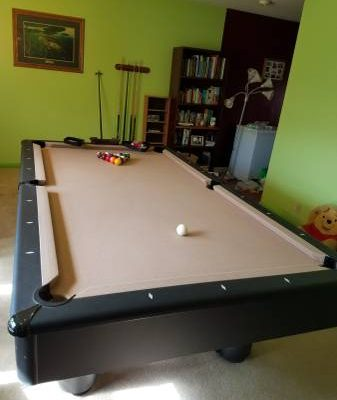8ft. Legacy Pool Table
