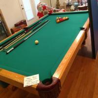 Regulation Size Steepleton Pool Table For Sale