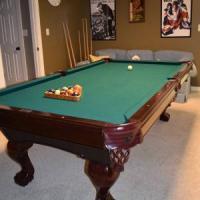 Furniture Style Brunswick Billiard Table For Sale