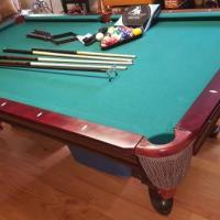 8' Liberty Billiards Table For Sale